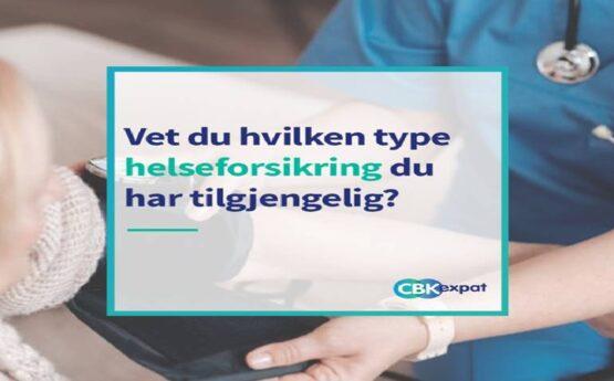 Vet du hvilken type helseforsikring du har tilgjengelig?